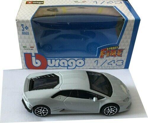 Lamborghini Huracan LP 610-4 2014 in nardo grey 1:43 scale model, Bburago