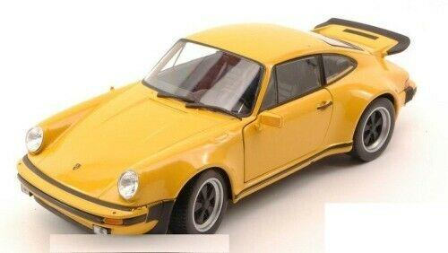 Porsche 911 Turbo 3.0 1974 in yellow 1:24 scale model from Welly