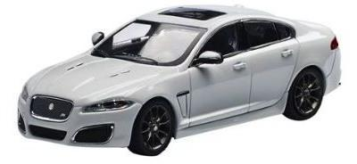 Jaguar XFR ,Polaris white, scale model IXO