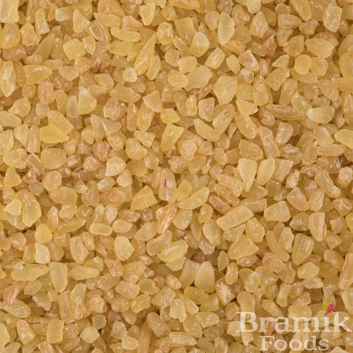 Close up of Bulgar Wheat