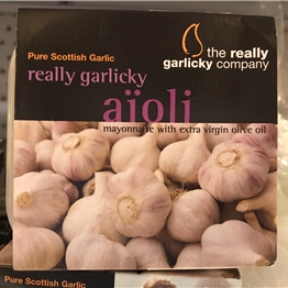 Tub of Garlic Aioli