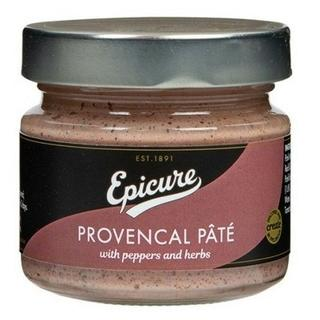 A jar of provencal pate