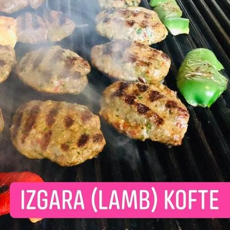 Izgara Kofte displayed on a plate
