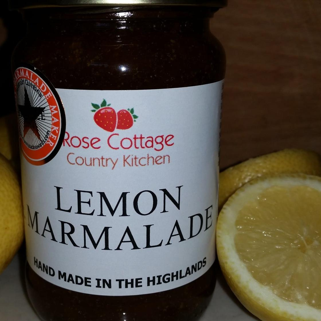 Jar of Lemon Marmalade