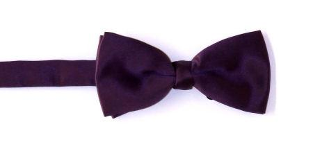 Plain Satin Bow Tie