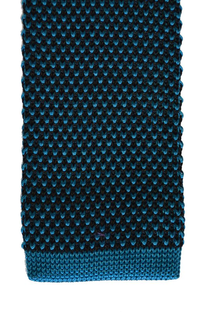 Silk V-Design Knitted Tie