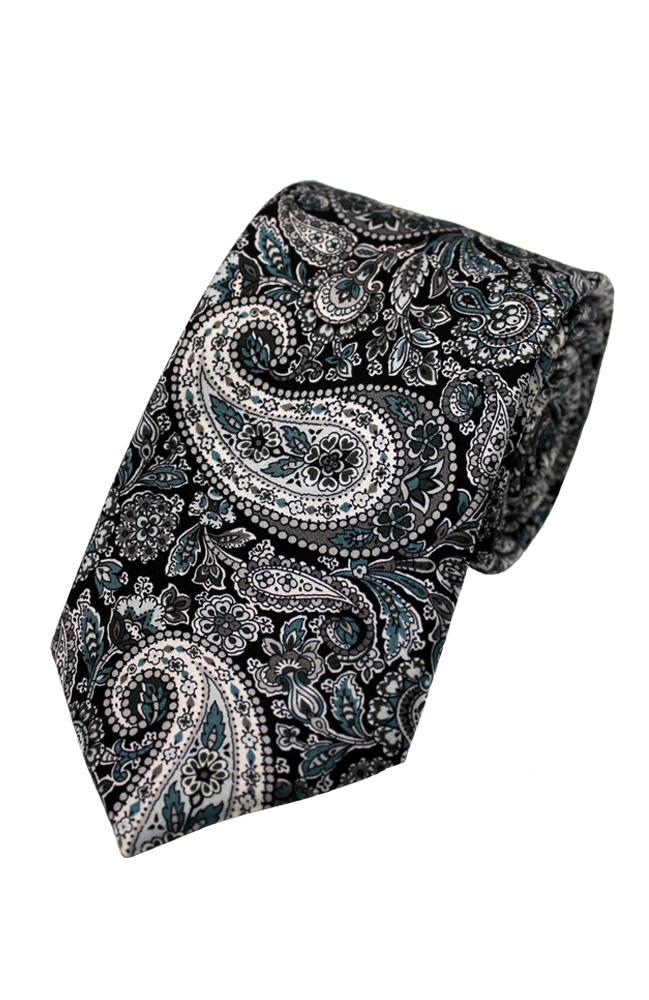 Silk Tie Made With Liberty Fabric