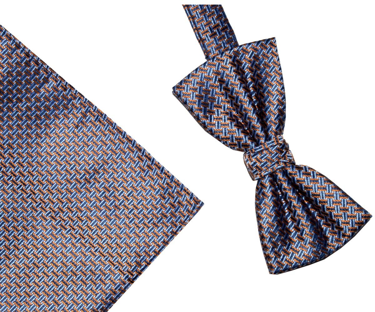 Bow Tie And Hank Set - Geo