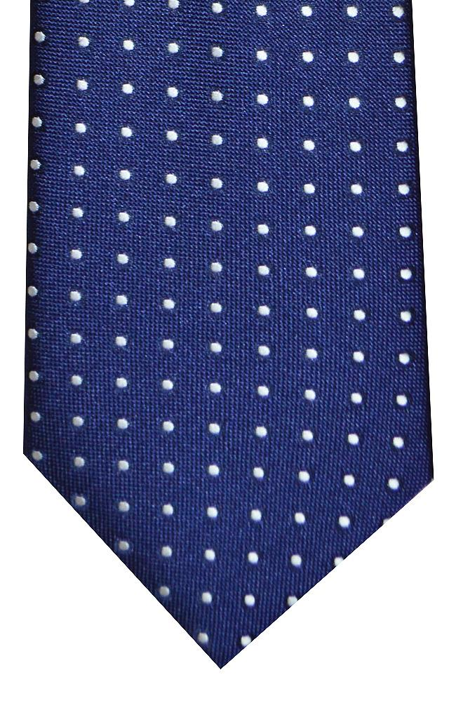 Clip-On Polka Dot Tie