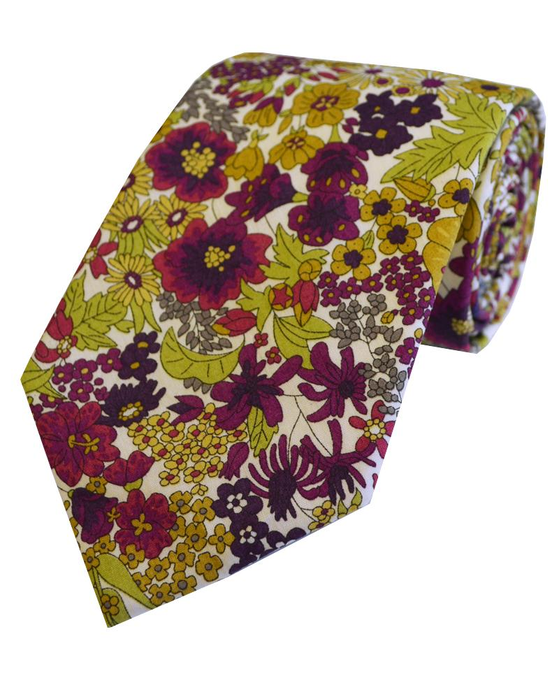 Tie Made With Liberty Art Fabric