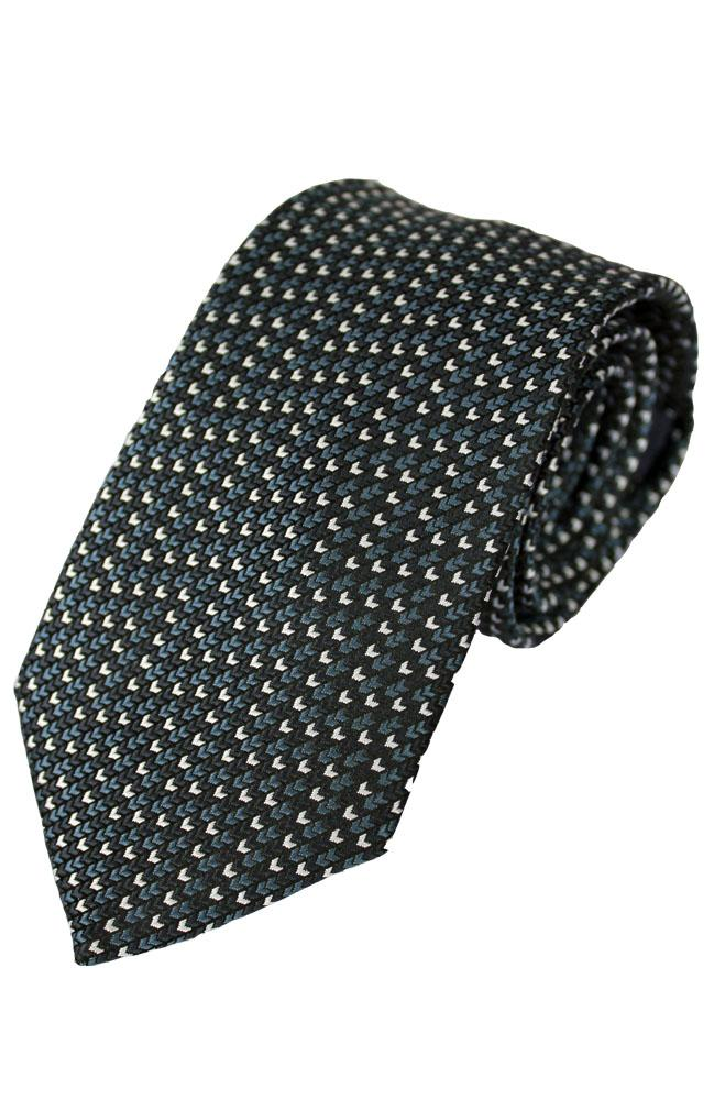 Chevron Pattern Poly Tie