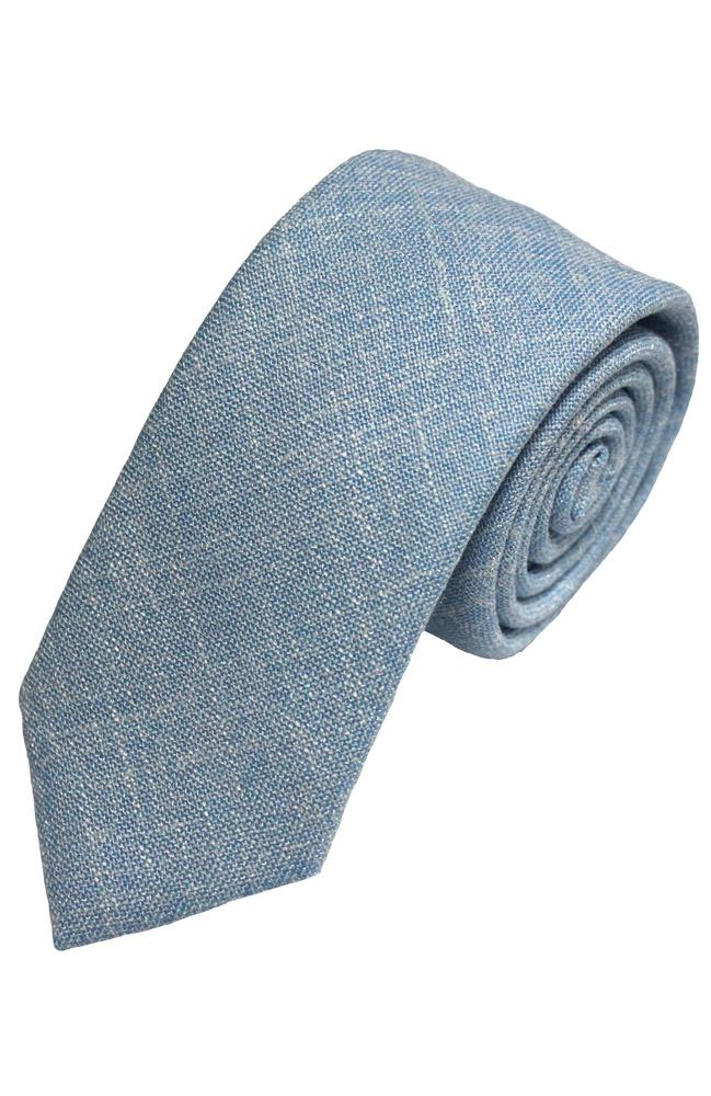 Chambray Cotton Tie