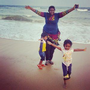 children, yoga, beach, freedom