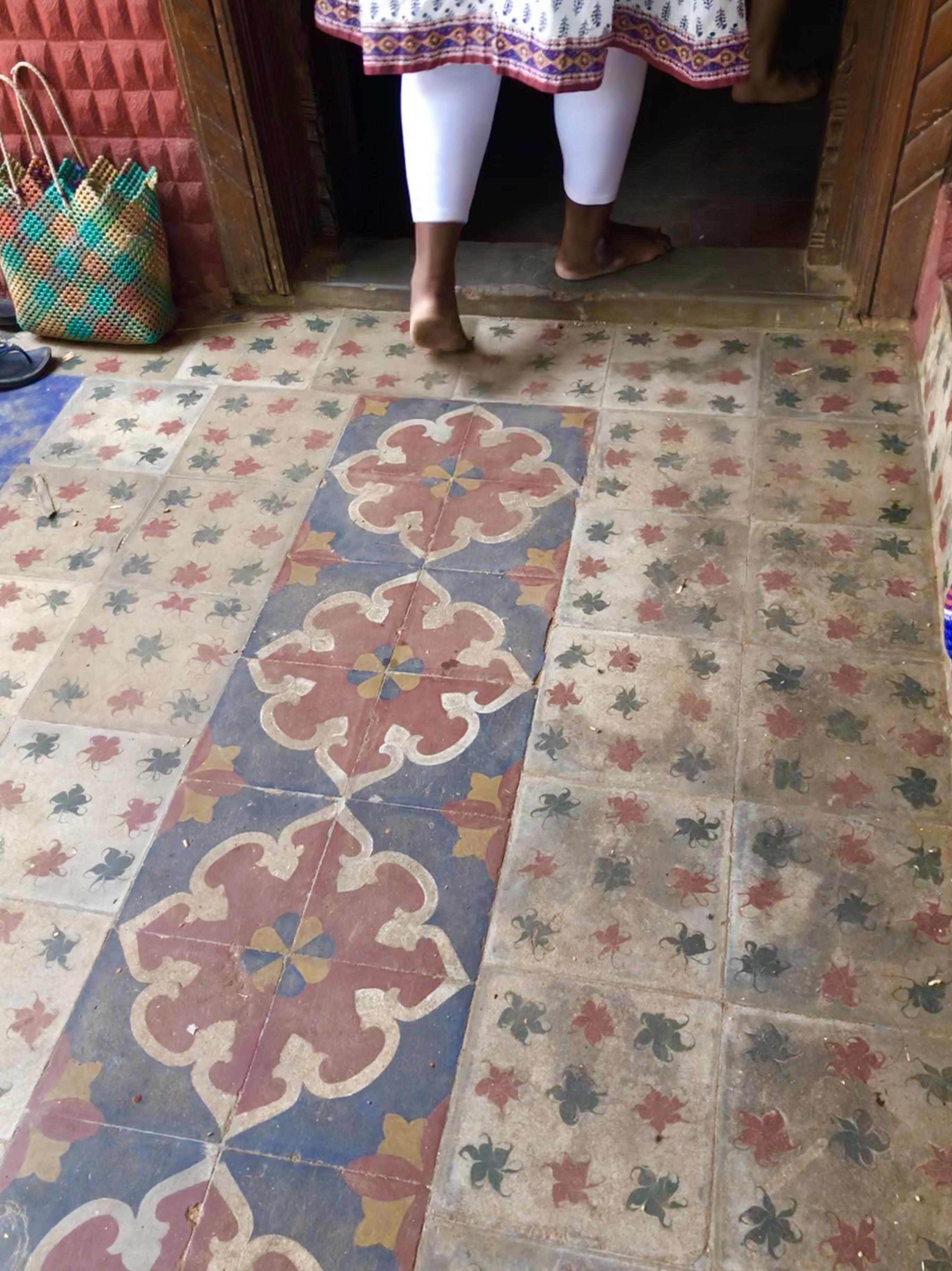 Indian tile patterns