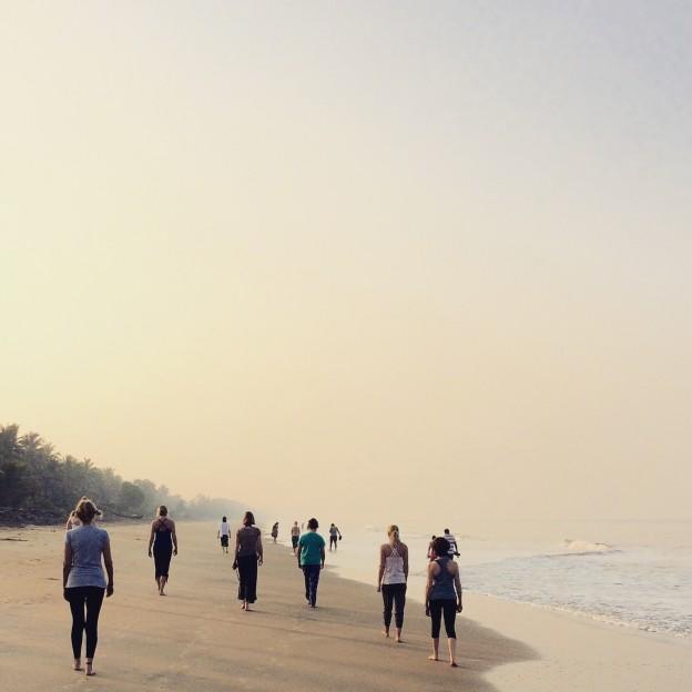Yoga United Holidays In india Beach Walk