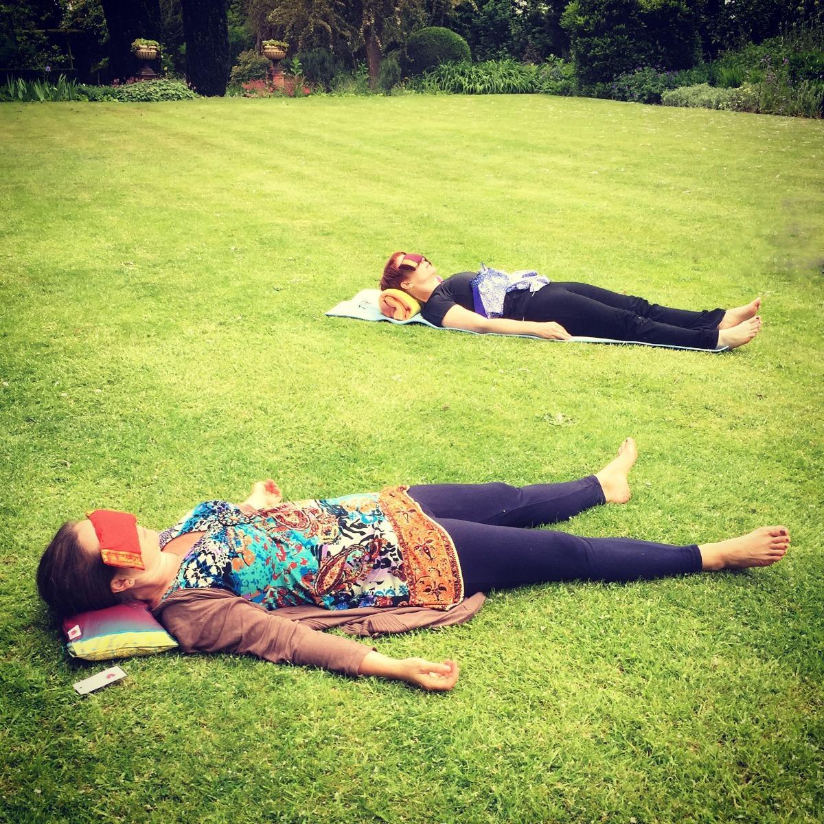 Restful sleep yoga nidra