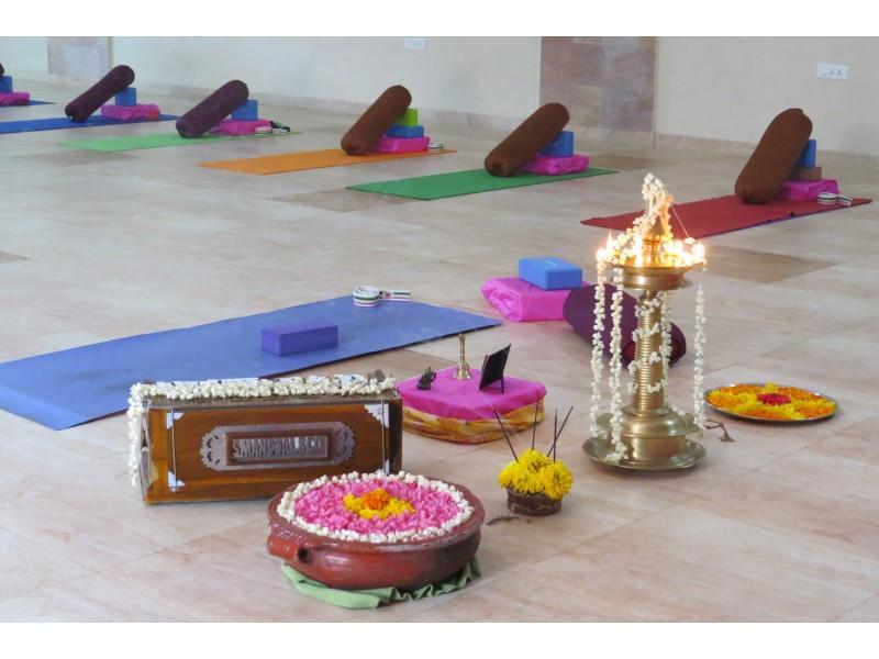Yoga & Creative Journaling retreat Beverley Nolan Kerala
