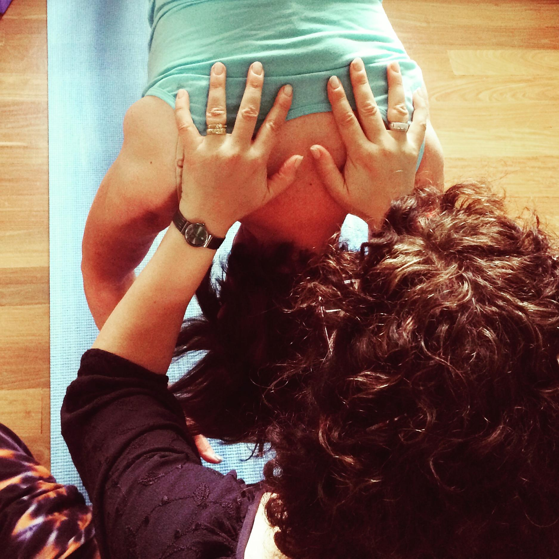 yoga united yoga therapy hands