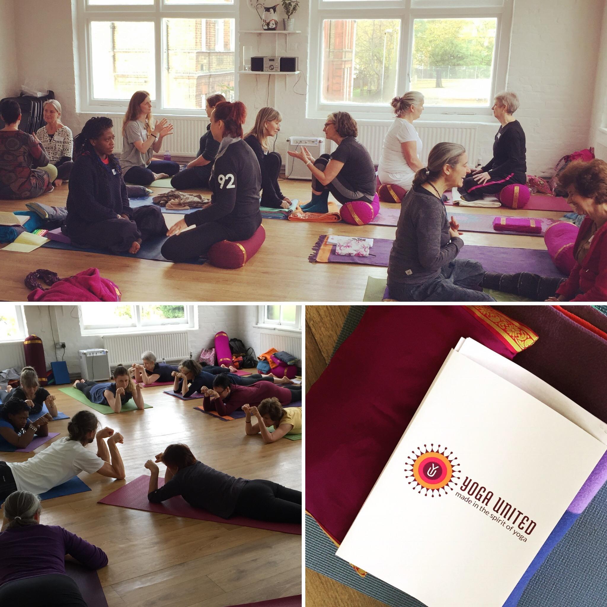 yoga united yoga therapy training