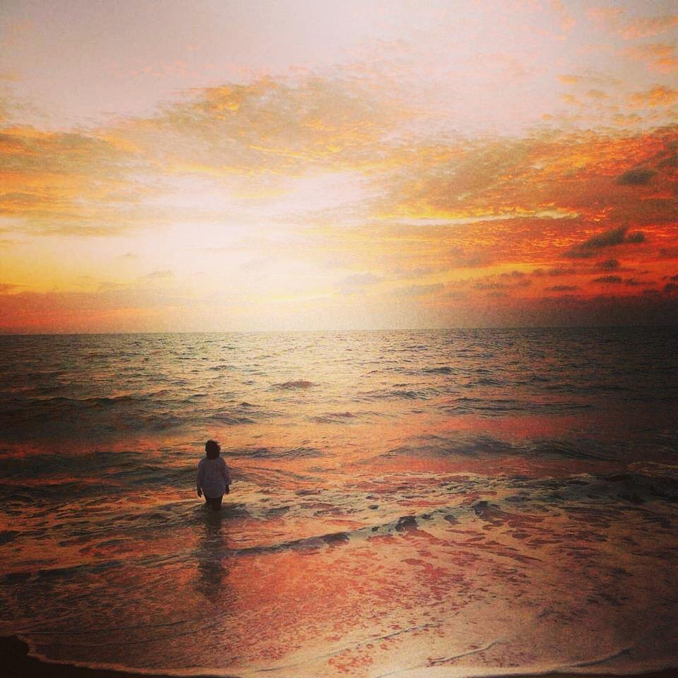 Yoga United Blog India Calling  Make Room for ME Judy Beach water