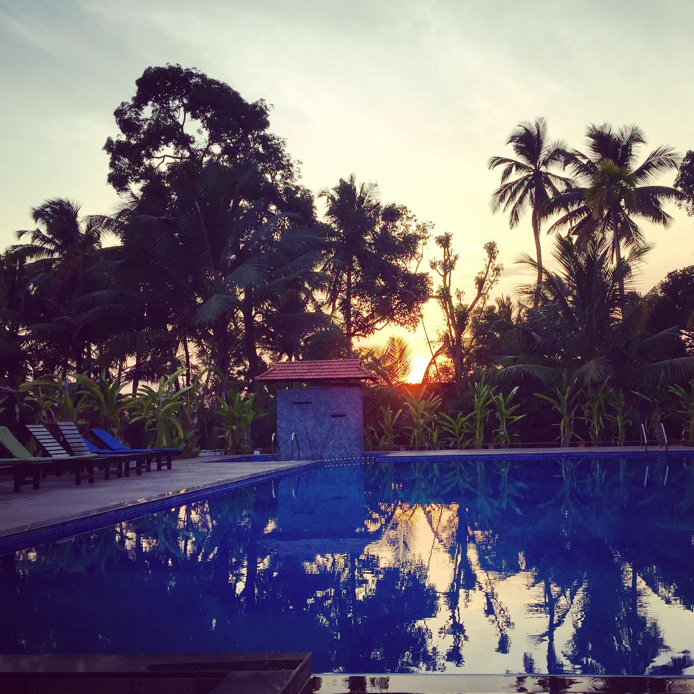 Yoga United holiday india retrat cherai beach Swimming poll
