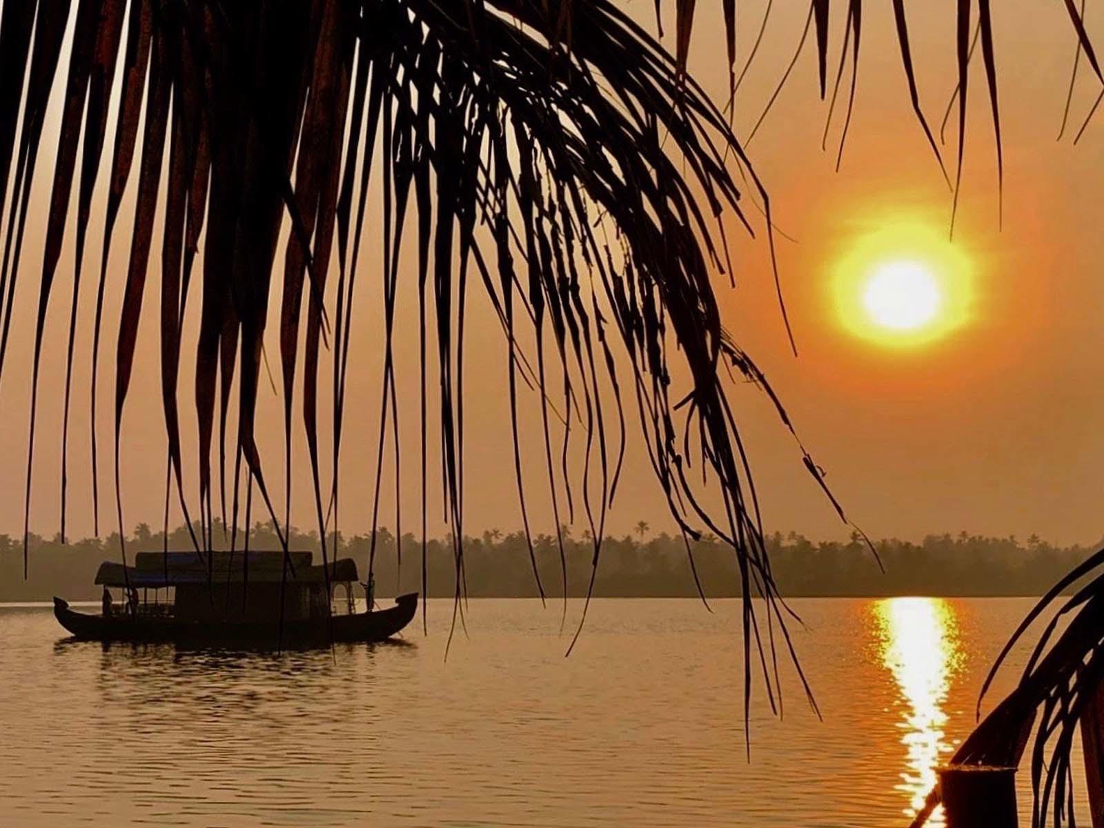 Yoga United Holidays In india Sunrise Backwaters